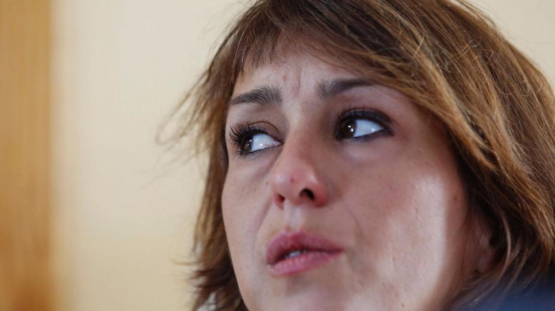 Juana Rivas, en imagen de La Voz de Galicia