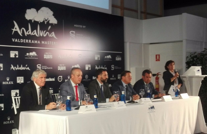 Presentación Andalucía Valderrama Masters